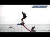 FLYBOARD  Летающие дельфины  Шоу в Лазаревском